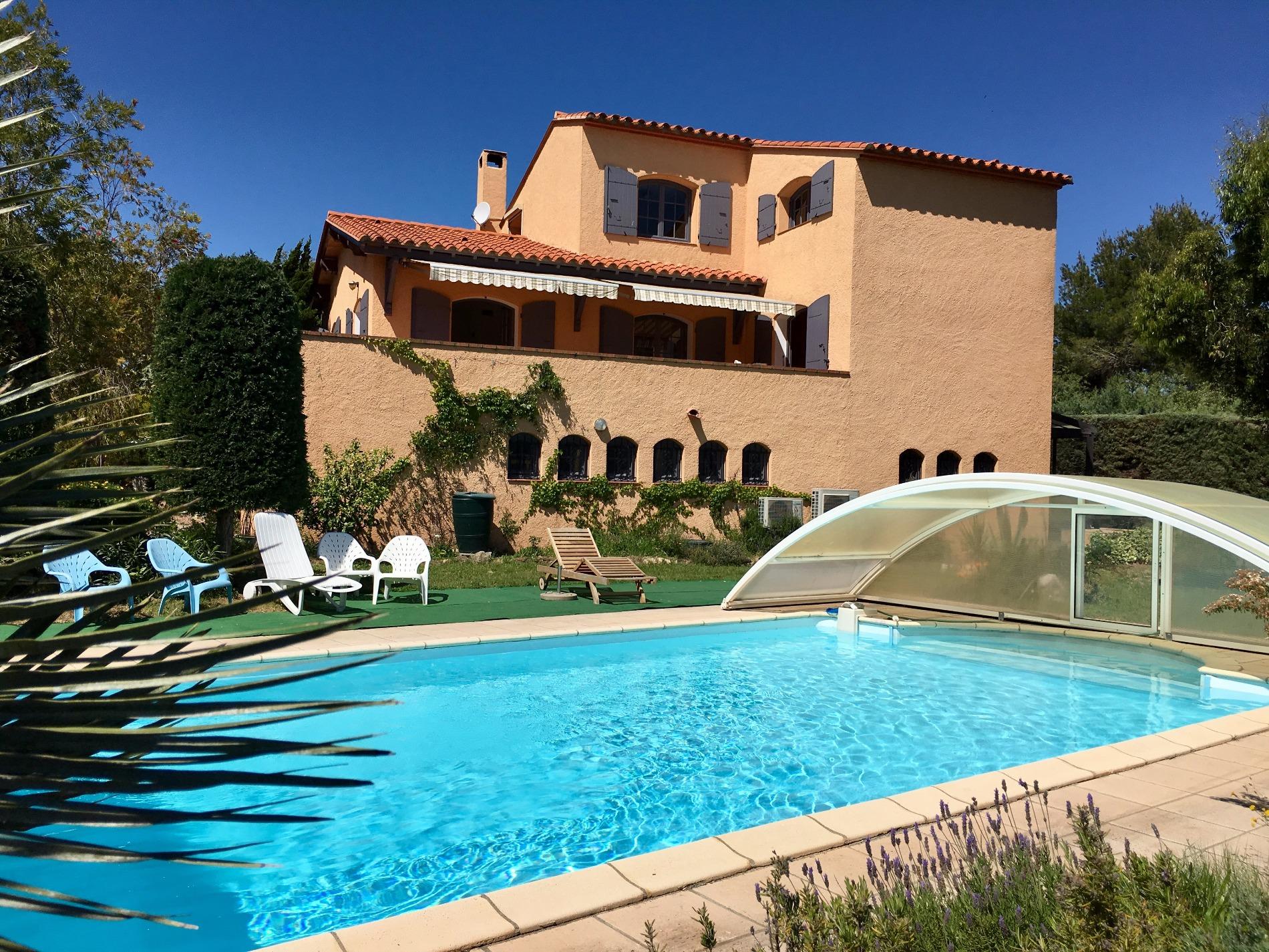 Vente magnifique villa avec piscine aux pieds des alb res - Location villa collioure avec piscine ...
